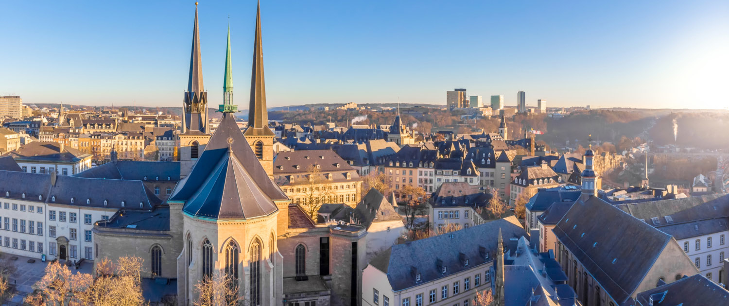 Vue Ville Luxembourg